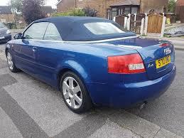 2003 audi a4 1 8t convertible blue manual 105k in nottingham