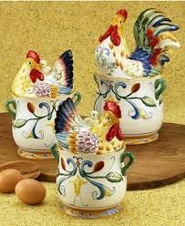 rooster kitchen canister sets country kitchen canister set foter