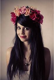 flower headpiece pink flower headpiece by carolinesuominen on deviantart