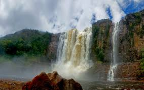 angel falls guayana canaima national park venezuela hd desktop