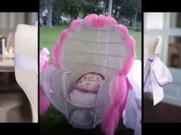 Chair Decorations Simple Baby Shower Chair Decoration Ideas Youtube