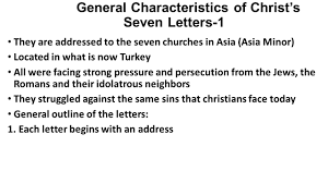 christ u0027s letters to the churches 4 revelation 2 ppt download