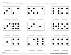dominos activities and worksheets