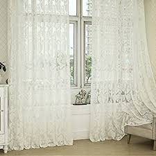 Cream Lace Net Curtains Butterflies Lace Net Curtain Panel Ivory Cream Natural Butterfly