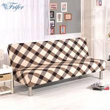 canapé sans accoudoir élastique pliant canapé lit couverture tout compris housse pour