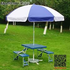 umbrella table and chairs carbazole home outdoor portable folding aluminum picnic tables and