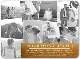 wedding anniversary ideas 10 year wedding anniversary ideas and ways to celebrate shutterfly