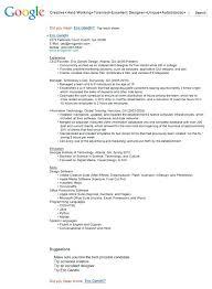Best Free Resume Bu by 94 Resume Builder Google Good Resumer Example