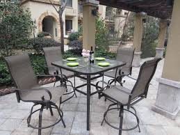 black patio table glass top furniture 3 pc dark wrought iron lowes bistro set for patio