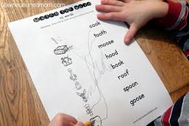 free worksheets for oo words the measured mom