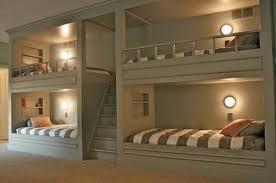 Wall Bunk Beds 4 Bunk Beds In Wall Paragonandviva