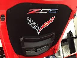 c7 corvette accessories c7 z06 corvette stingray premium airbrushed liner white