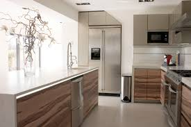 contemporary small space kitchen decors added modern long kitchen