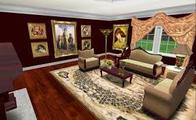 second life marketplace mesh victorian living room suite w color