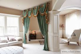 Curtains Seattle Green Chenille Swag Valance Curtains By Celuce Com Modern
