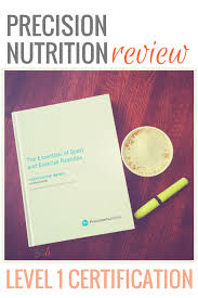 precision nutrition certification review