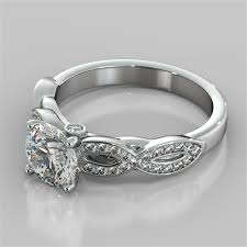 infinity engagement rings cut infinity design engagement ring