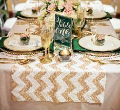 glitz sequin table runners u2014 sparklepony sequin table linens