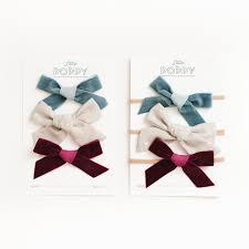 velvet bows poppy co pastbows
