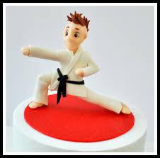 karate cake topper cakecentral