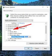 Resume From Hibernation Enable Disable Hibernate In Windows 10
