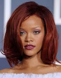 volume bob hair rihanna medium red bob hairstyles with volumes hairstyles weekly