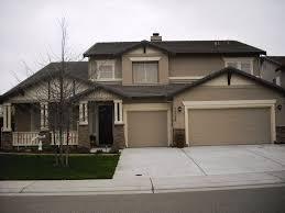 dark exterior paint color schemes best exterior house