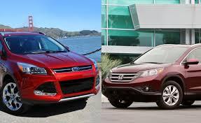 honda crv 2012 review 2012 honda cr v vs 2013 ford escape car reviews