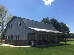 Gambrel Style Roof View Our Projects Procon Exteriors