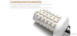 Flickering Light Bulb Halloween E26 E27 2835smd 7 5w 3 Modes Led Flame Effect Fire Light Bulbs