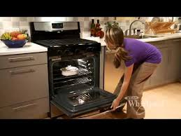 how to light a whirlpool gas oven gas range from whirlpool appliances infomercial youtube