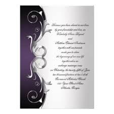 purple and silver wedding invitations purple and silver wedding invitation templates lake side corrals