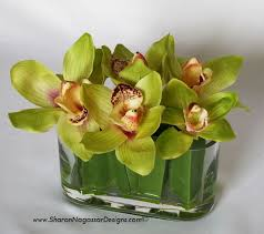 Orchid Centerpieces Real Touch Silk Flowers Wedding Table Centerpieces Altar Arbor