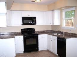 pictures of kitchens with black appliances what color to paint kitchen cabinets with black appliances faced
