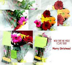 flowers bouquet copy winks of joy