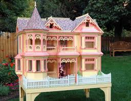 Barbie Dream House Floor Plan 04 Fs 152 Victorian Barbie Doll House Woodworking Plan