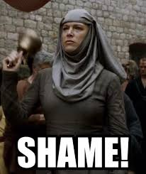 Shame On You Meme - list of synonyms and antonyms of the word shame
