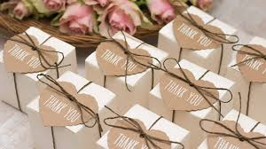wedding thank you gift ideas how much do wedding favors cost ideas prices
