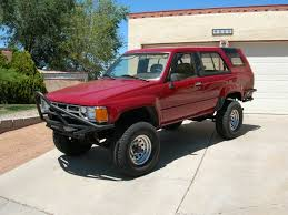 toyota 4runner lifted for sale 1986 toyota 4runner turbo truestreetcars com