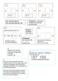 probability summary doc stem pinterest venn diagrams