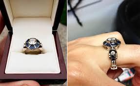 wars wedding ring 30 epic wars wedding ideas mon cheri bridals