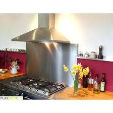 poser credence cuisine credence en inox stunning cuisine bois noir inox ideas design trends