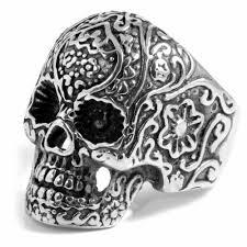 metal skeleton ring holder images Skull rings 23 men 39 s skull rings in stock always free delivery jpg