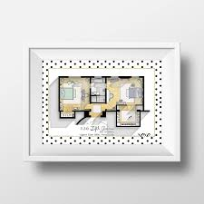 Tv Show Apartment Floor Plans Amazon Com Gossip Apartment Floor Plan Tv Show Floor Plan