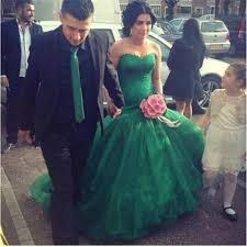 emerald green wedding dress obniiis com