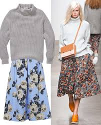 sweater skirt the best sweater and skirt combos for fall instyle com