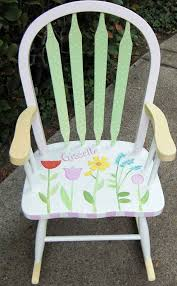 Baby Furniture Chair 12 Best Hand Painted High Chairs U0026 Youth Chairs Images On