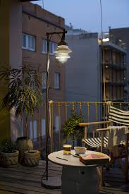 Outdoor Floor Lamps How To Bring An Indoor Coziness To Outdoor Lighting Design