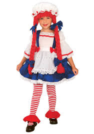 cute halloween costumes for toddler girls raggedy ann and andy ann girls toddler halloween costume shop