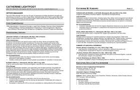 How To Write A Resume For Hospitality Jobs by Before Version Of Resume Sample Office Manager Resume Sample